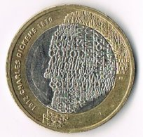United Kingdom 2012 £2 Charles Dickens (2) - 1971-… : Decimal Coins