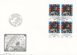 K8890 - Liechtenstein / First Day Cover (1978) 9490 Vaduz: Zodiac Signs - Aquarius - Astrology