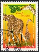 France Giraffe Stamp Fine Used