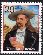 USA Wild Bill Hickok Fine Used Stamp - Celebrità