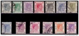 Hong Kong 1938, King George VI, Partial Set, Used - Gebraucht