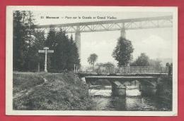 Moresnet - Pont Sur La Gueule Et Grand Viaduc - 1938  ( Voir Verso ) - Plombières