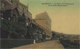 BAS-MEUDON (92) - La Seine Et Le RESTAURANT De La PÊCHE MIRACULEUSE - Carte Colorisée / Toilée - Meudon