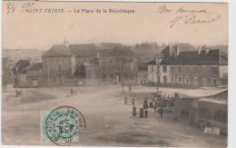 SAINT YRIEX LA PLACE DE LA REPUBLIQUE FOIRE ? CIRQUE ?  1905 TBE - Saint Yrieix La Perche