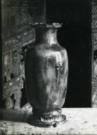 France Paris Objet D'Art Potterie Vase Potiche Ancienne Photo 1910 - Objects
