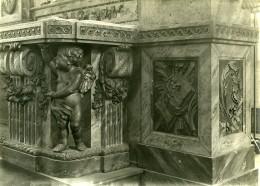 France Paris ? Detail Objet D'Art Eglise Religion Ancienne Photo 1910 - Objects