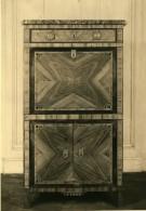 France Paris Objet D'Art Meuble Marqueterie Secretaire Ancienne Photo 1910 - Objects