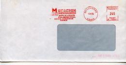 EMA Industrie,chimie MECACHIM Acier Polis Coloré Polispectral,acier Inoxydable 86 Lusignan,Vienne,lettre 6.10.1984 - Chimie