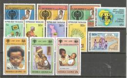 290n * SUDAN * TOGO * SIERRA LEONE * JAHR DES KINDES * POSTFRISCH ** !! - Sudan (1954-...)