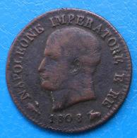 Italie Italia Napoléon Napoleone 1 Centesimo 1808 B C.1.1 - Monedas Transitorias