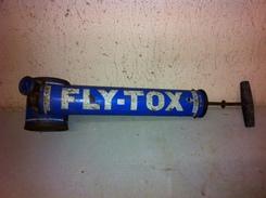 Ancien Pulvérisateur Fly-Tox Collection Déco - Publicité
