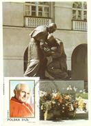 Polen : Maxi Karte :  Papst Jean-Paul II ; FDC 05.09.1987 - Cartes Maximum