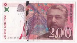 200 Francs Eiffel 1996 Série N 0054877434 - 1992-2000 Ultima Gama