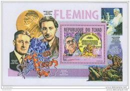 TCHAD CHAD 2014 ** S/S Alexander Fleming A1508 - Beroemde Personen