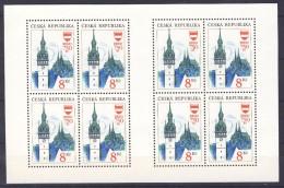 ##[162]. Czech Republic 1993. Sheetlet. Michel 9. MNH(**). - Blocks & Sheetlets