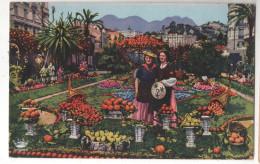 CP Menton Friut D'Or (06 ALPES MARITIMES) Animée Femmes Costumes Obliteration 1947 Monaco Obliteration Mecani Champion E - Menton
