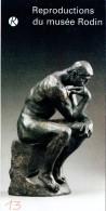 Ancien Dépliant Reproductions Du Musée Rodin, Paris (1997) - Dépliants Touristiques