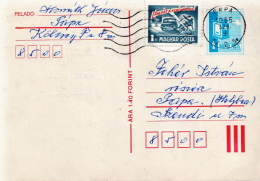 Postal History: Hungarian PC With Road Accident Stamp - Accidents & Road Safety