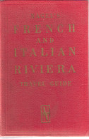NAGEL'S FRENCH AND ITALIAN RIVIERA - COTE D'AZUR - Geneva 1961 - Maps - Europa
