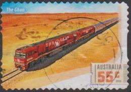 AUSTRALIA - DIE-CUT- USED 2010 55c Australian Railway Journies - The Ghan - 2010-... Elizabeth II