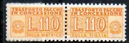 PIA - Specializzazione  :1970 :  PACCHI CONCESSIONE : £ 110 - (SAS 13/I - CAR 24) - 1946-.. Republiek