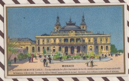 6AI3633 CHROMO PHOSPHATINE FALIERES RUE DE LA TACHERIE MONACO LE CASINO DE MONTE CARLO 2 SCANS - Trade Cards