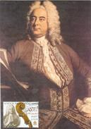 Vatikan 3 Maxikarten  Komponisten Händel, Haydn Und Mendelssohn-Bartholdy FDC 24.10.2009 - Cartes-Maximum (CM)