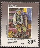 Lituania 476 ** MNH. 1993 Europa - Lithuania