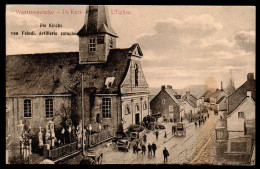 6467 - Alte Ansichtskarte - Westrozebeke Westrosenbach Westroosebeke - Feldpost 123 - 1. WK - Staden
