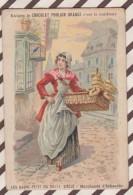 6AI3646 CHROMO CHOCOLAT POULAIN Les Gagne Petit MARDHANDE D'ECHAUDES 2 SCANS - Poulain