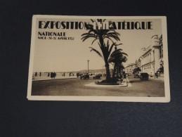 FRANCE - Nice , Carte Postale De L 'exposition Philatélique En 1935 - A Voir - L 2478 - Niza