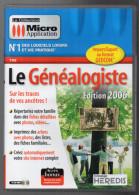 PC Le Généalogiste édition 2006 Micro Application - Jeux PC