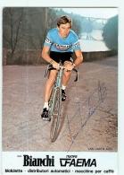 Alex VAN LINDEN , Autographe Manuscrit, Dédicace . 2 Scans. Cyclisme. Bianchi Faema - Radsport