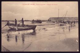 Postal POVOA Do VARZIM Praia Do Pescado / Chegada Dos Barcos - Edição Manuel Carneiro & Irmão BRAGA PORTUGAL - Porto