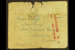 """CRASH COVER 1939 (June) CRASH Cover From The """"Flying Boat"""" CENTURION.  Perth To GB Carried On The Centurion Which... - Stamps"""