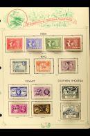 1949 U.P.U. OMNIBUS Good Range Of Complete Fine Mint Sets On Special Album Pages, Incl. Falkland Islands, Hong... - Stamps