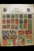WORLD COLLECTION IN AN OLD STRAND ALBUM 1860s-1970s. A Chiefly, All Different Used Collection In A Battered Old... - Stamps