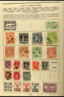 SIX OLD ALBUMS. 19th Century To 1960's World Collections In Six Small Albums, Mint & Used Stamps Some Loose... - Stamps
