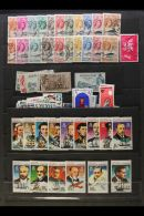 BRITISH COMMONWEALTH SMALL SORTER A Queen Victoria To QEII Good Mint And Used Collectors Assortment In A Shoebox.... - Stamps