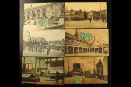 """1910 BRUSSELS EXHIBITION Group Of Postcards Produced For The """"Exposition Universelle Et Internationale De... - Stamps"""