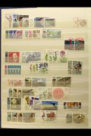 ICELAND, IRELAND, ITALY NEVER HINGED MINT SETS, A Collection In A Stock Book Of Sets Spanning The Late 1940's To... - Stamps