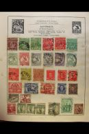 ALL DIFFERENT WORLD COLLECTION 1860s-1960s Delightful Old Mint & Used Collection In An Old Stanley Gibbons... - Stamps