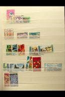 AFARS ET ISSAS, DJIBOUTI, EGYPT, ETHIOPIA, EQUATORIAL GUINEA NEVER HINGED MINT SETS, A Collection In A Stock Book... - Stamps