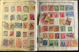 OCEANIA ON OLD LINCOLN ALBUM PAGES An 1850's To Early 1900's Old Time Collection Which Includes Sections Of  Fiji,... - Stamps