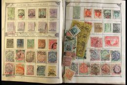 AFRICA ON OLD LINCOLN ALBUM PAGES An 1870's To Early 1900's Mint And Used Collection From An Old Lincoln Album... - Stamps