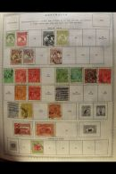 1850s-1950s WORLD COLLECTION A Mint & Used ALL DIFFERENT Collection Presented In A Single Gigantic Minkus... - Stamps