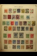 CHIEFLY PRE-1960 WORLD RANGES In 8 Old Printed Albums - Some Fairly Sparse, Others Reasonably Filled. Big Heavy... - Stamps
