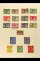 BRITISH SOUTHERN/CENTRAL AFRICA - KGVI COMPLETE A Mint Or Used COMPLETE BASIC RUN Comprising Basutoland (SG... - Stamps