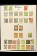 BRITISH PACIFIC 1876-1954 Mint & Used Collection On Leaves, Inc Samoa 1952 Set Mint, Papua 1910-11 To 1s Used,... - Stamps