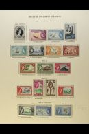 BRITISH COMMONWEALTH - PACIFIC ISLANDS FINE NEVER HINGED MINT QEII COLLECTION With 1952/60 Issues From British... - Stamps